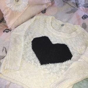 Sweaters - Cute Heart Sweater